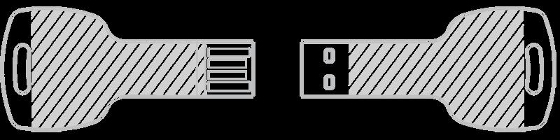 Usb Key Flash Drive Key Shape Usb Drive